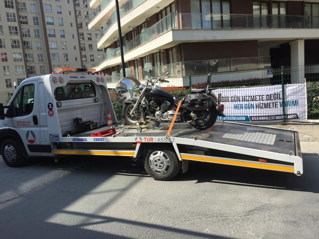 Büyükçekmece Motorsiklet Kurtarma