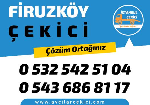 firuzköy 7/24 en uygun en yakın çekici kurtarıcı ve yol yardım hizmetleri
